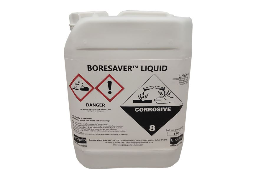 BoreSaver Liquid Borehole Cleaner